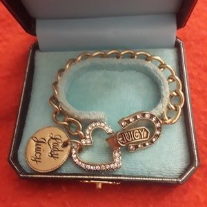 Juicy Couture charm bracelet with box